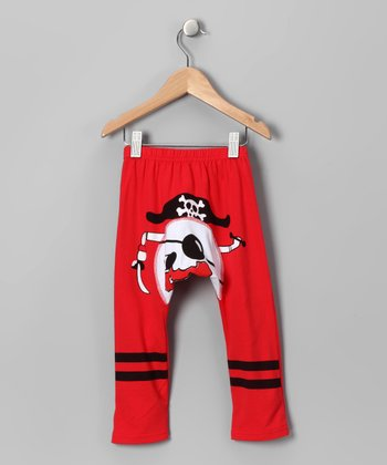 Red Pirate Pants - Infant
