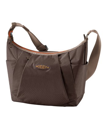 Chocolate Brown Adele 14-L. Messenger Bag