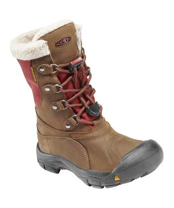 Slate Black & Madder Brown Basin Waterproof Boot