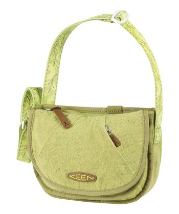 Green Wool Boucle Montclair 1.5-L. Mini Tote