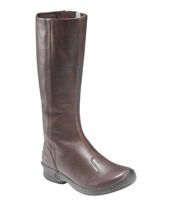 Chocolate Brown Ferno High Boot - Women