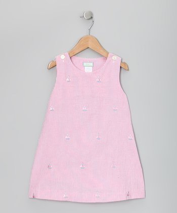 Raspberry & Pink Sailboat Jumper - Toddler & Girls