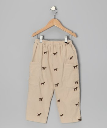 Khaki Labrador Pants - Boys