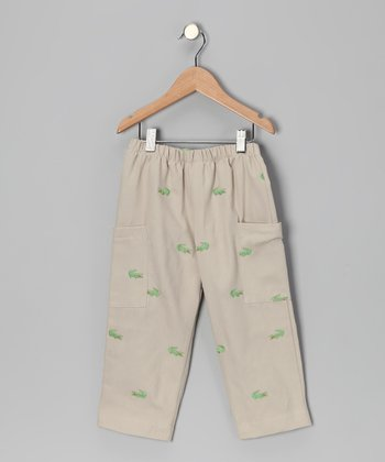 Green Alligator Pants - Infant, Toddler & Boys