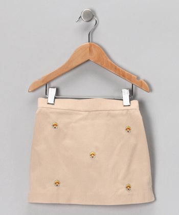 Tan Turkey Corduroy Skirt - Infant, Toddler & Girls