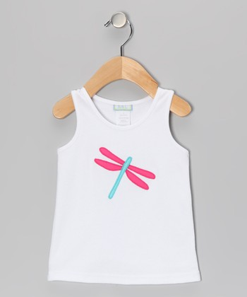 White Dragonfly Tank - Infant