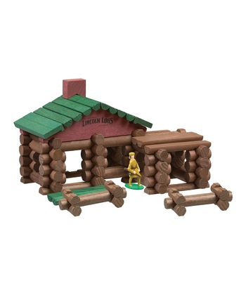 Classic Edition Frontier Cabin Lincoln Log Set