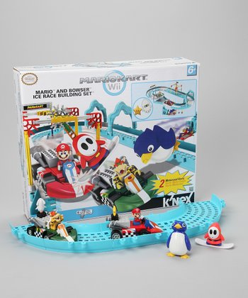 Mario & Bowser Ice Race Building Set