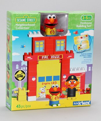 Sesame Street Firehouse Set