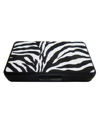 Black & White Zebra Wipes Clutch