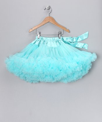 Aqua Pettiskirt - Toddler & Girls