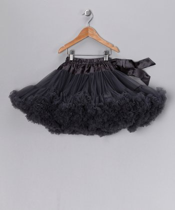 Dark Gray Pettiskirt - Infant & Girls