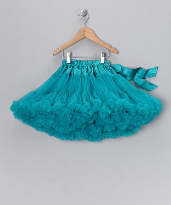 Dark Teal Pettiskirt - Infant & Toddler