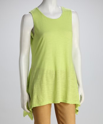 Lime Sidetail Tank