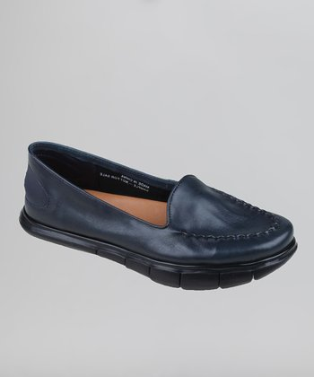 Navy Dally Loafer