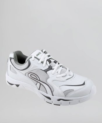 White & Gray Exer-Walk Walking Shoe