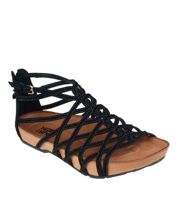 Black Exquisite Sandal