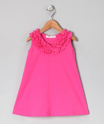 Fuchsia Chyna Dress - Infant