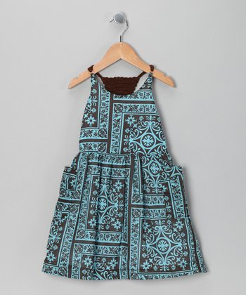 Blue Fiona Dress - Infant & Toddler