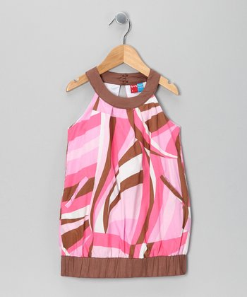 Pink Middleton Dress - Infant, Toddler & Girls