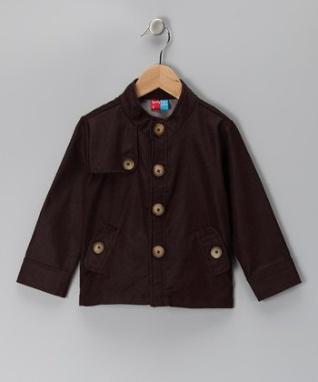 KandyCrew Brown Sonny Jacket - Infant, Toddler & Boys