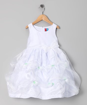 White Kai Dress - Infant