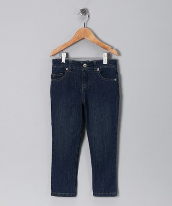 Navy Peppermint Jeans - Toddler & Girls