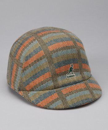 Evergreen Stripe Jockey Cap