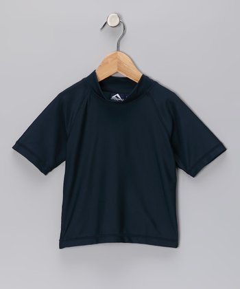 Navy Fiji Rashguard - Toddler & Boys