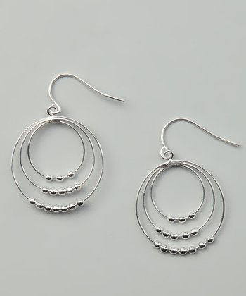 Sterling Silver Nesting Drop Earrings