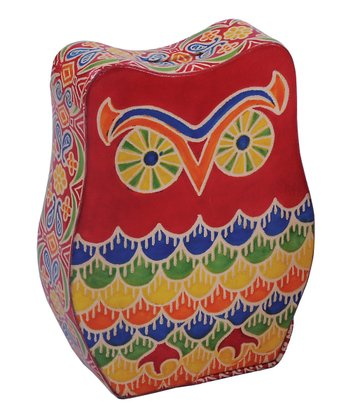 Karma Living Red Owl Money Box