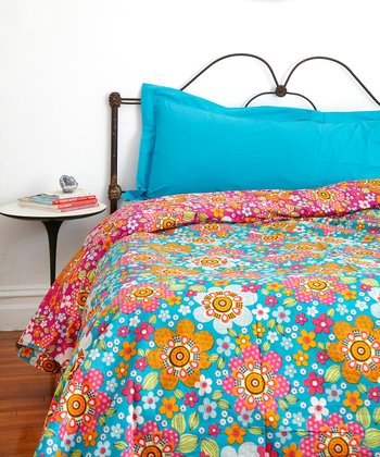 Festival Flowers Full Duvet Set