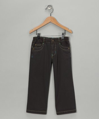 Cactus Gray Twill Pants - Infant, Toddler & Boys