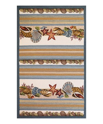 Seashell Colonial Indoor/Outdoor Rug