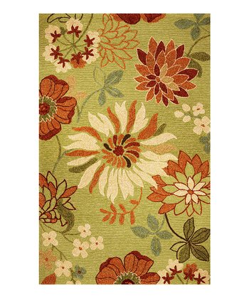 Pistachio Meridian Bella Indoor/Outdoor Rug