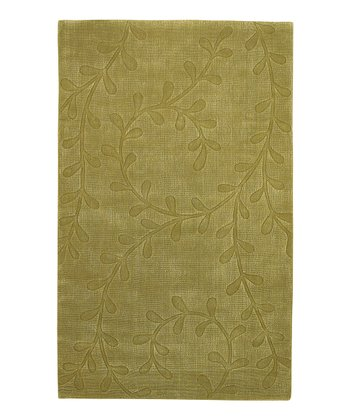 Sage Serenity Transitions Wool-Blend Rug