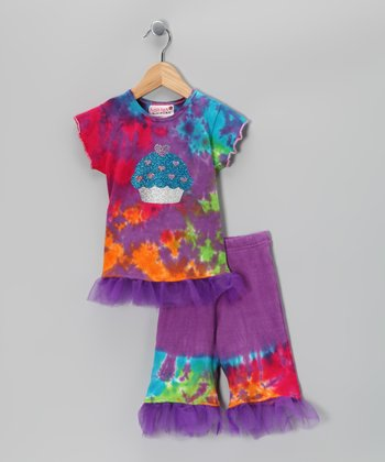 Rainbow Cupcake Tunic & Leggings - Infant