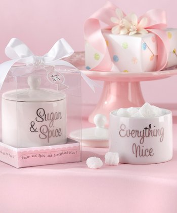 'Everything Nice' Sugar Bowl - Set of 12