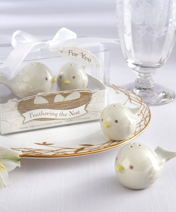 Feathering the Nest Salt & Pepper Shakers - Set of 12
