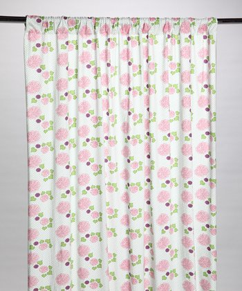 Zinnia Organic Window Curtain
