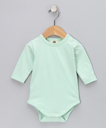 Glacier Elbow Patch Organic Bodysuit - Infant