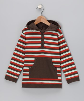 Tri-Stripe Organic Henley - Infant & Boys