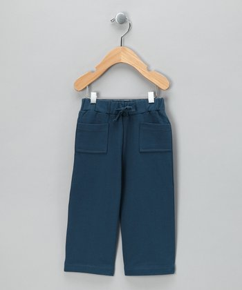 Blue Steel Vintage Organic Track Pants - Infant & Toddler