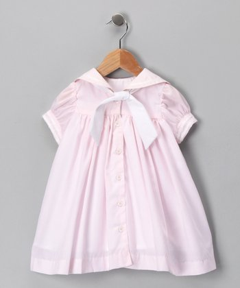 Pink Nautical Dress - Infant & Toddler