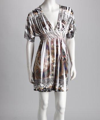 Paisley Floral Sublimation Dress - Women