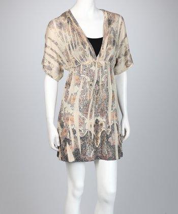 Brown Sublimation Dress - Women