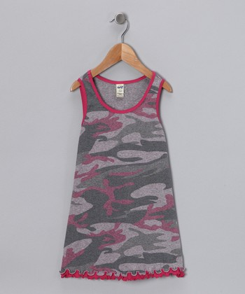 Baby Pink Camouflage Dress - Infant, Toddler & Girls