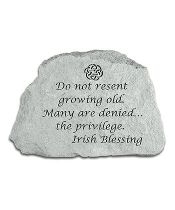 'Do Not Resent' Inspirational Stone