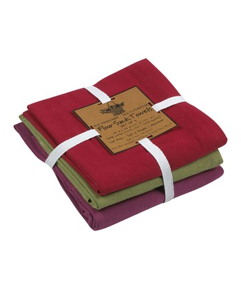 Berry Medallion Flour Sack Towel Set