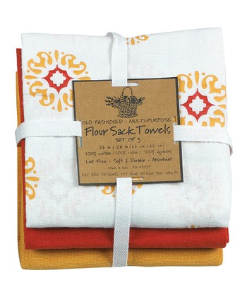 Honey Sun Dish Towel Set
